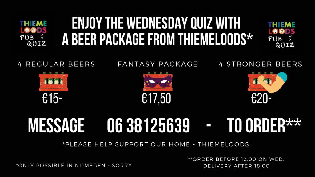 The Wednesday Quiz