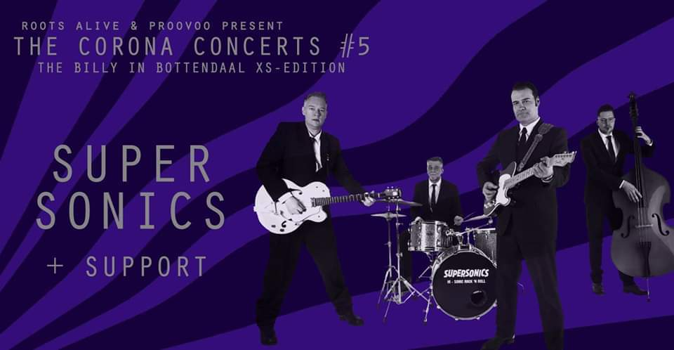 The Corona Concerts #5: Supersonics + Support